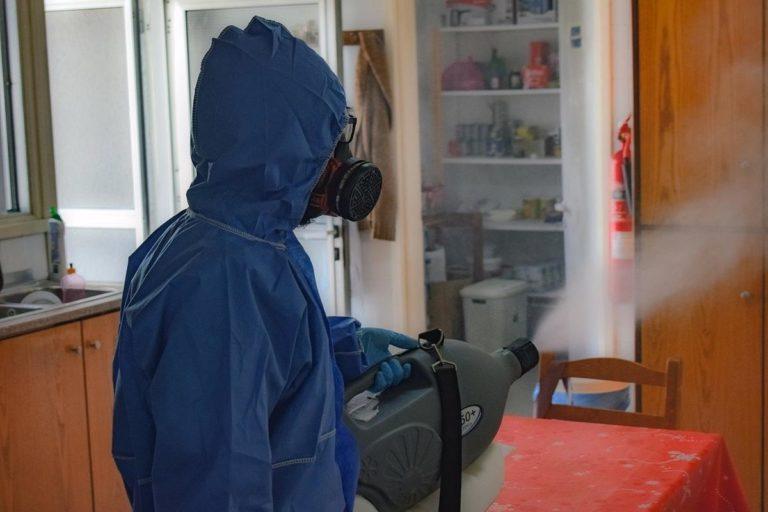 Dezynfekcja pomieszczeń przy pomocy ozonu